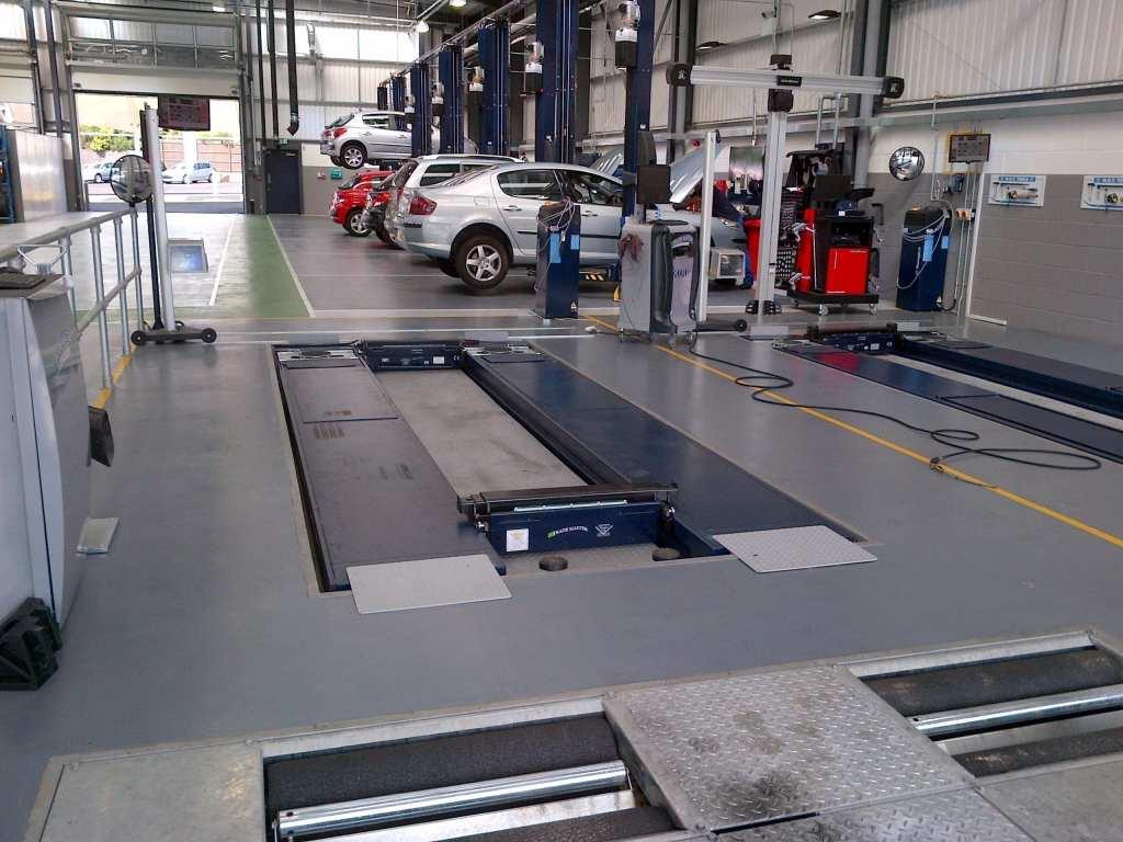 Monarcoat 720 epoxy resin flooring