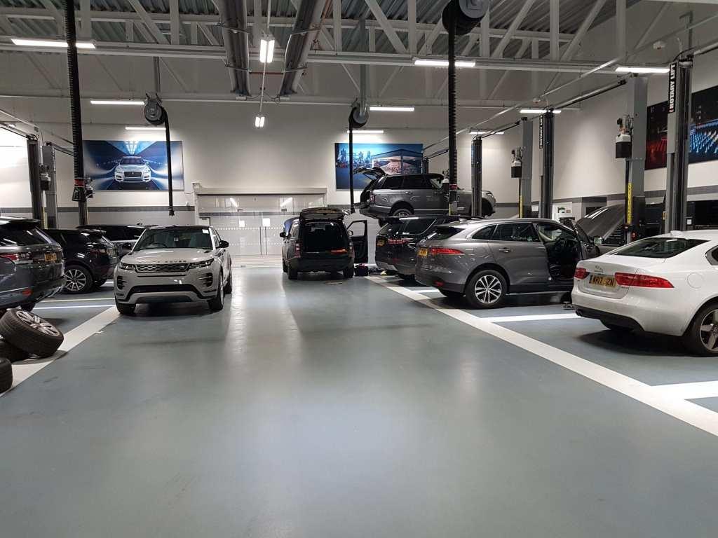 Car Workshop Resin Floor