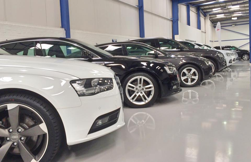 car showroom flooring using resin sheffield