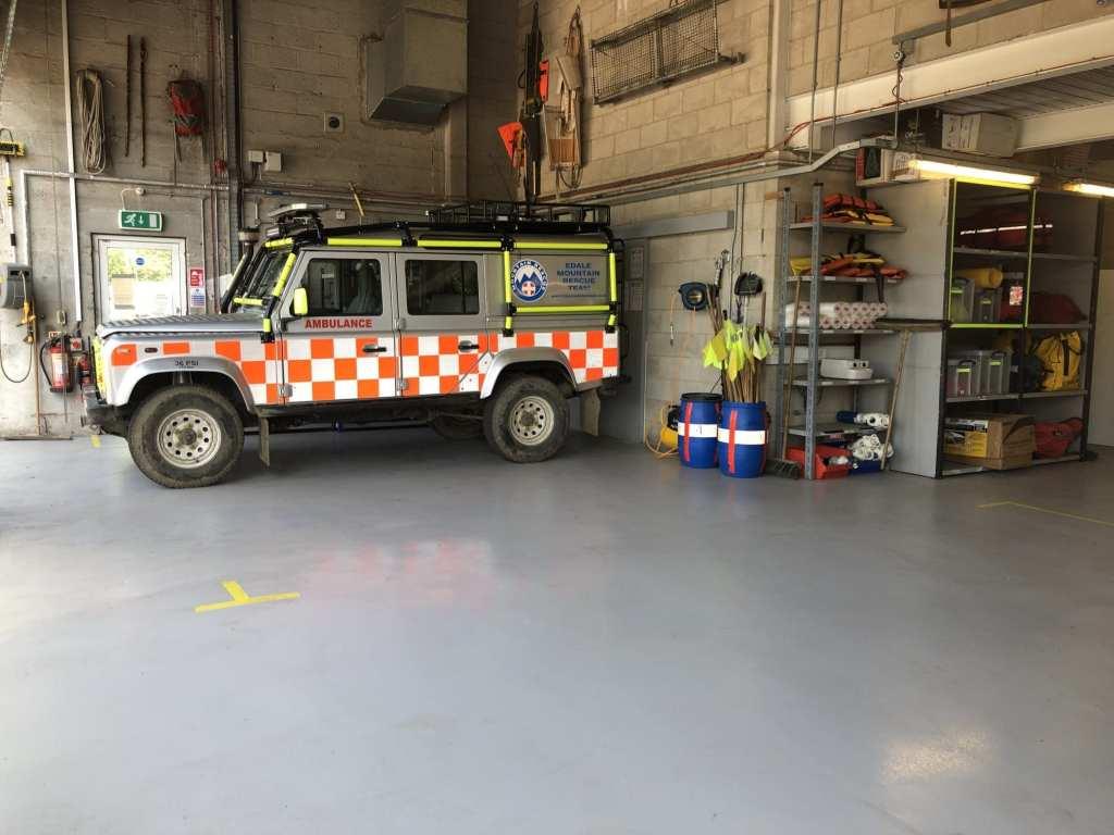 epoxy resin flooring Derbyshire Automotive