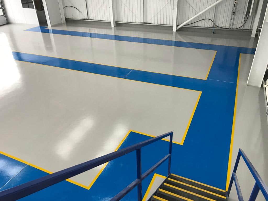 manufacturing resin flooring