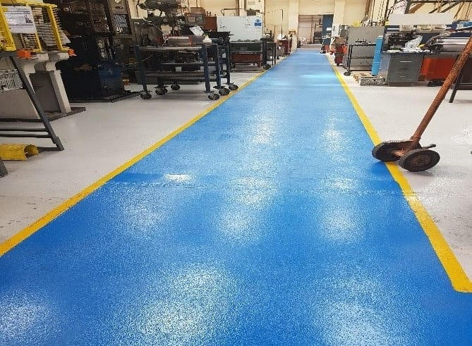 resin factory flooring Lincolnshire