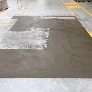 resin floor repair process