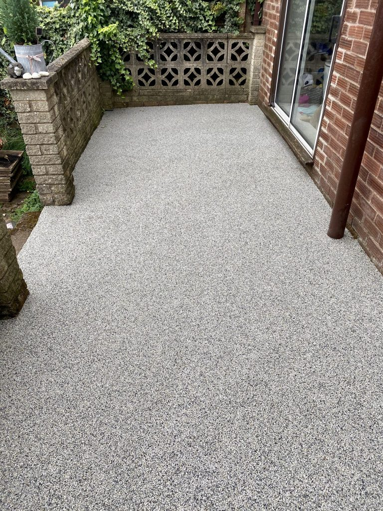 Resin bound fossil colour external