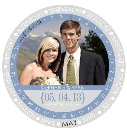 Save The Date Circle
