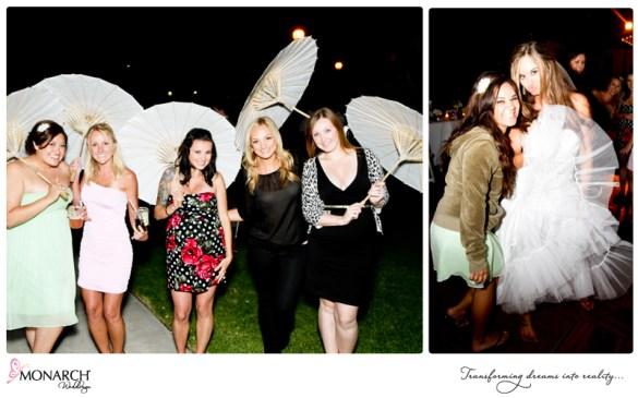 White-parasols-at-shabby-chic-park-wedding