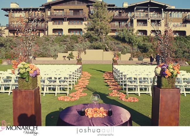 Lodge-at-torrey-pines-orange-and-purple-rustic-wedding