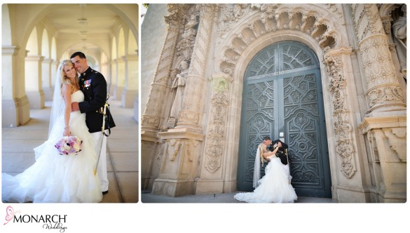 Wedding_Prado_Balboa_Park_Large_Blue_Door_Prado_MIlitary_Wedding