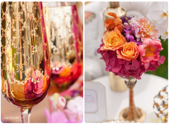 Gold-Z-gallerie-glass-orange-roses