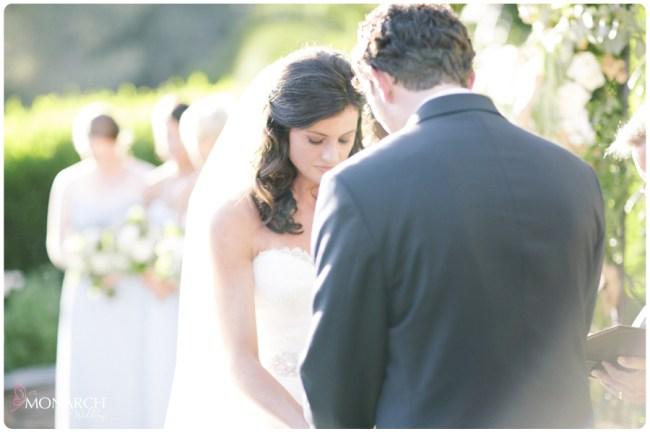 Garden-Chic-Rustic-Wedding-Ceremony-Praying