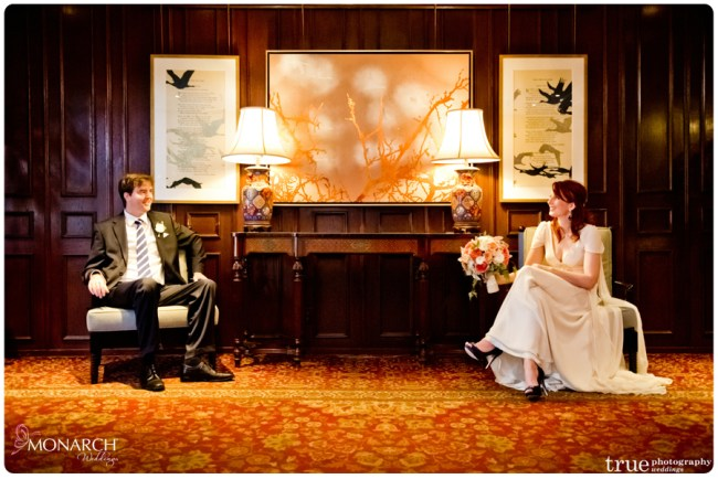 Couple-Lobby-Nautical-theme-wedding-hotel-del-coronado