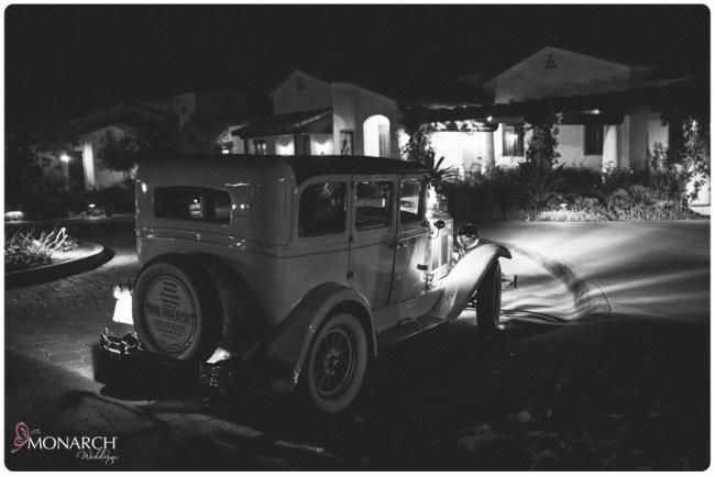 Rustic-garden-chic-wedding-rancho-santa-fe-golf-club-classic-car