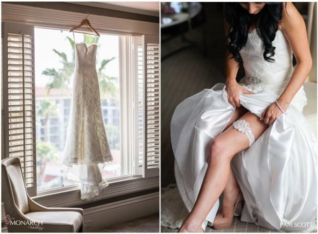 Stunning-lace-wedding-dress-and-garter-belt