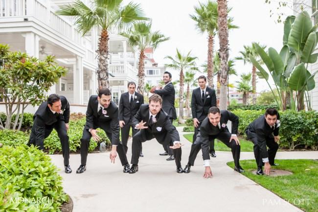 Fun-groomsmen-photos-hotel-del-coronado-wedding