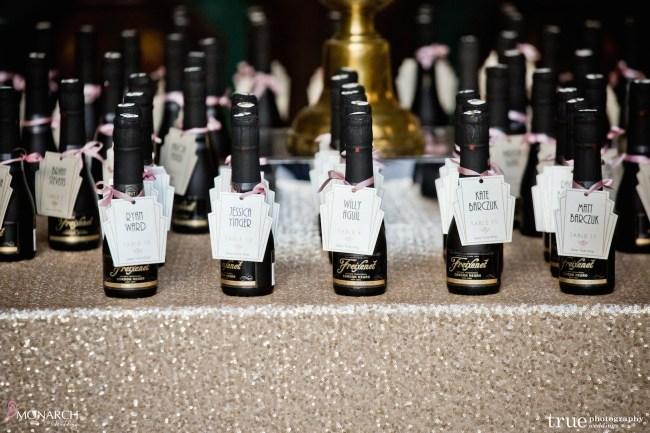 Prado-at-balboa-park-wedding-gold-sequin-linen-champagne-placecards