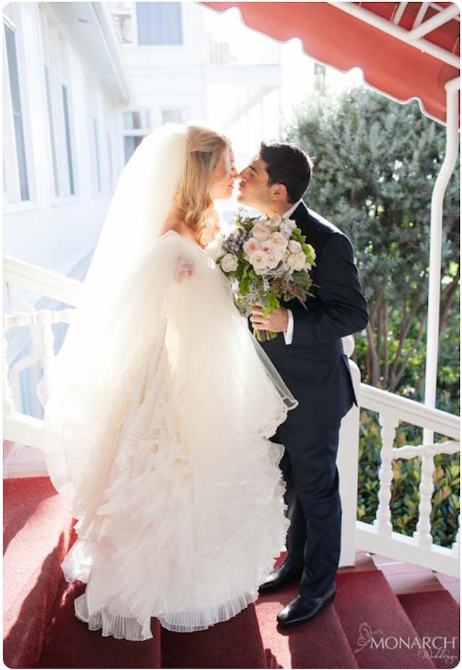Bride-Groom-Bridal-bouquet-hotel-del-wedding