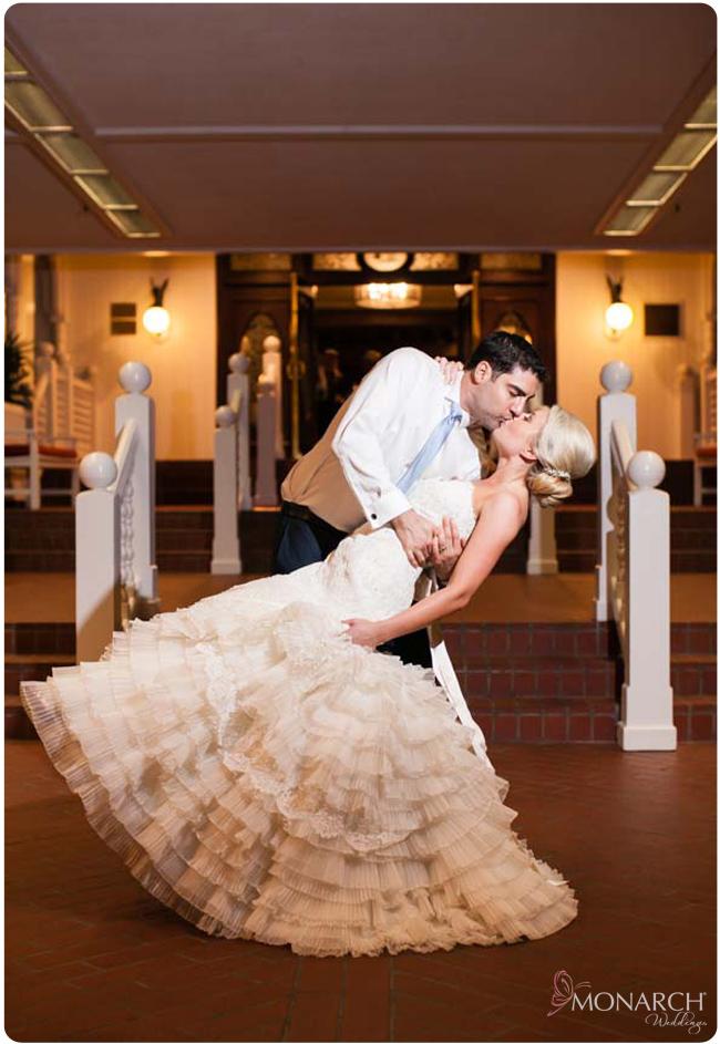 Bride-and-Groom-Kiss-Hotel-Del-Wedding