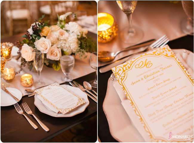 Farm-table-gold-foil-menu-Hotel-Del-Wedding-3