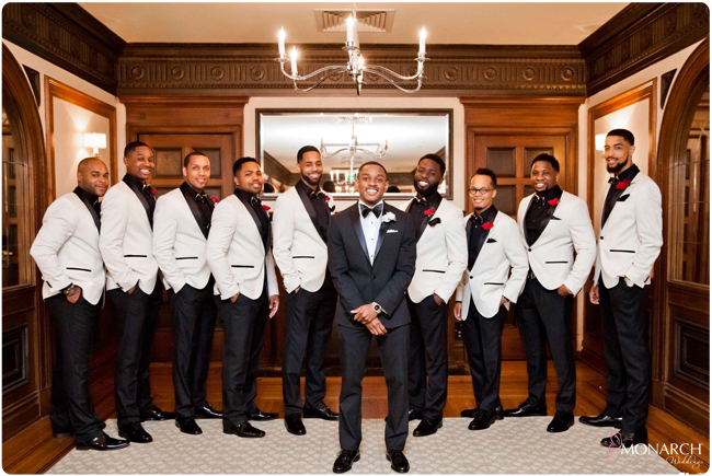 Groom-Groomsmen-white-tux-jacket-us-grant-wedding
