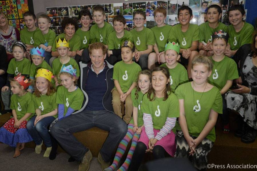 Prince Harry in New Zealand - 2015