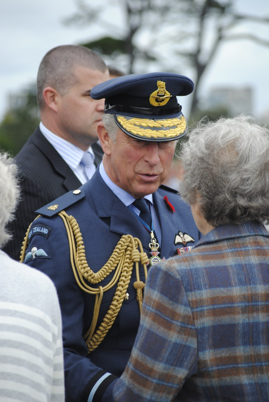 Prince Charles in New Zealand
