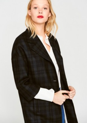 manteau carreaux tara jarmon