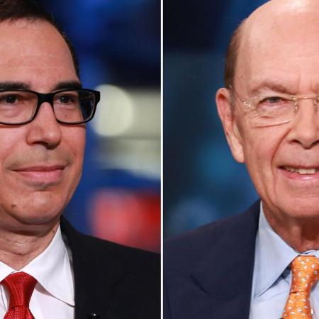 Trump Nominates Steve Mnuchin to Lead Treasury Department, Wilbur Ross for Secretary of Commerce, Todd Rickett for Deputy Commerce