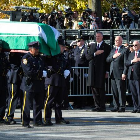 Donald Trump Calls Slain NYPD Widow Offering Condolences as Thousands of Officers Bid Final Farewell