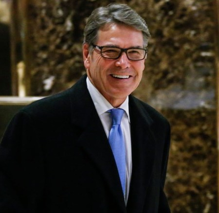 Trump Picks Rick Perry for Energy Secretary