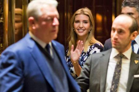 Al Gore Meets with Donald, Ivanka Trump