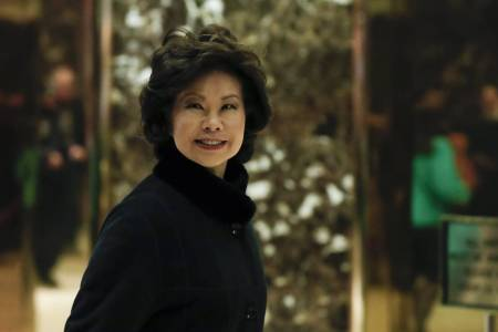 Trump Selects Elaine Chao for Transportation Secretary