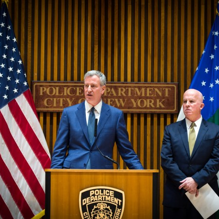 Mayor de Blasio, NYPD Commissioner Blast DOJ Statement Calling New York 'Soft on Crime'