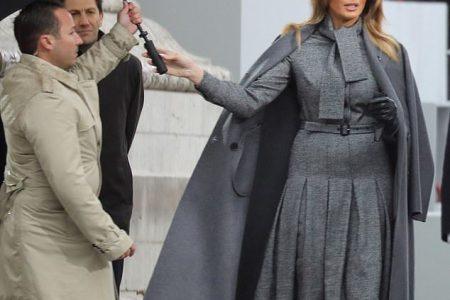 What Melania Wore Attending Armistice Commemoration Ceremonies
