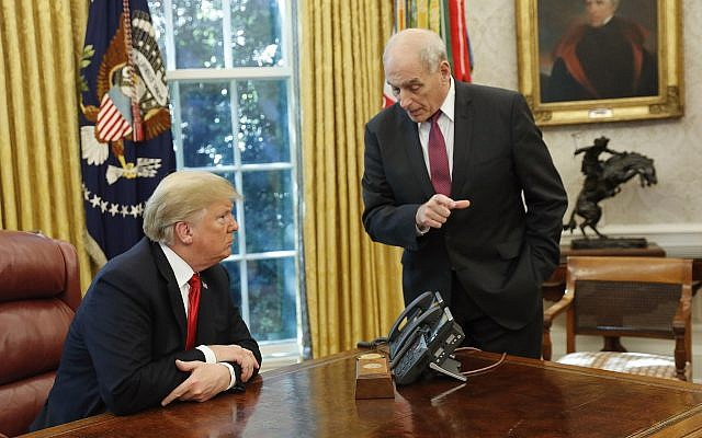 John Kelly to Step Down as White House Chief of Staff