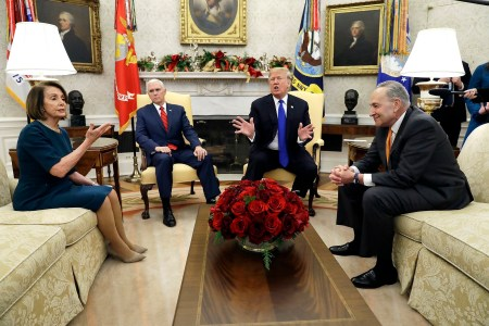 Trump Threatens Government Shutdown During Clash With Democratic Leaders