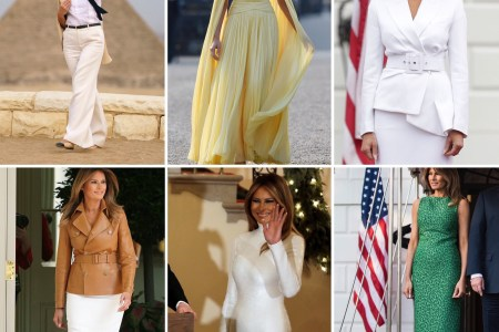 Top 12 What Melania Wore in 2018