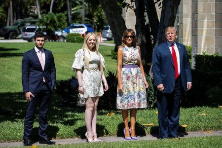 What Melania Wore For Easter Service