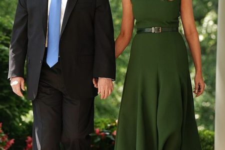 What Melania Wore To National Day of Prayer Event