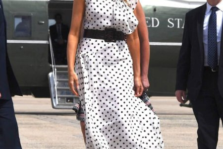 What Melania Wore to the RX Summit