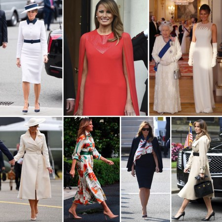 All of What Melania Wore in London