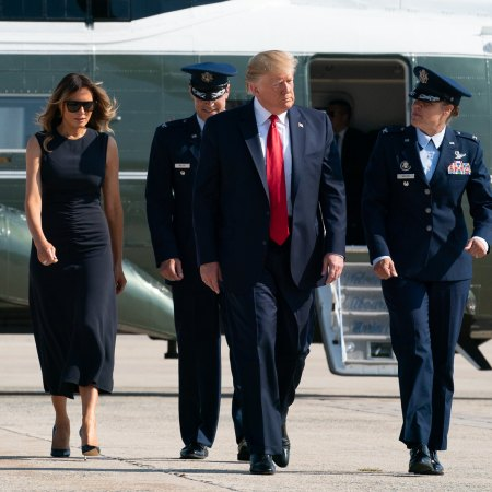 What Melania Wore Visiting Victims of El Paso and Dayton Shooting
