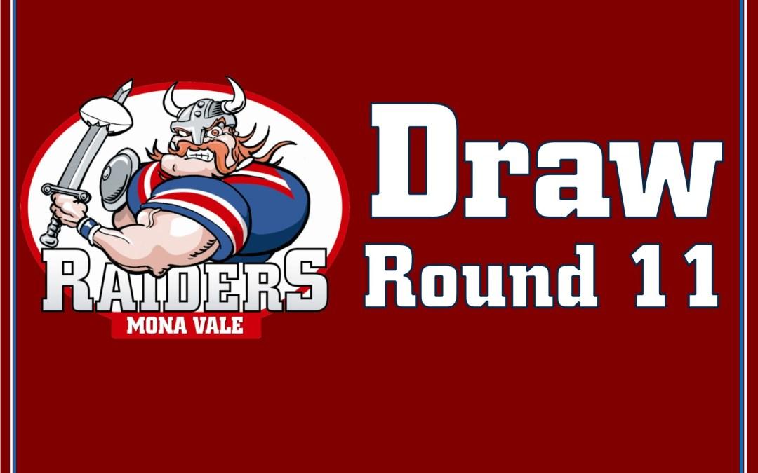 Round 11 Draw – 2018
