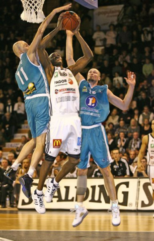 John McCord, sublime le CSP (Source : Limogescsp.com - Photo Olivier Sarre).