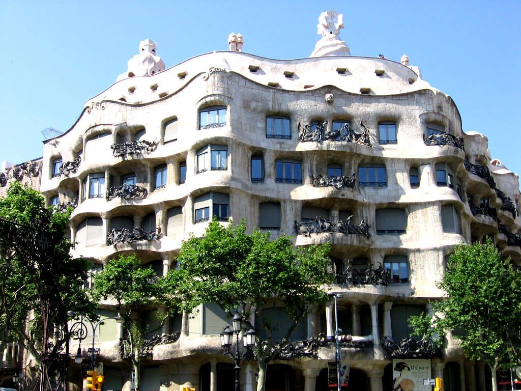 La Casa Mila  Un des plus beau btiment de Barcelone