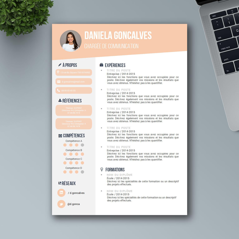 Exemple de CV Word pour 2019 - Mon Beau CV
