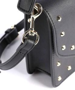 borsa a mano nappa revolution studs borchie nera versace jeans couture 03