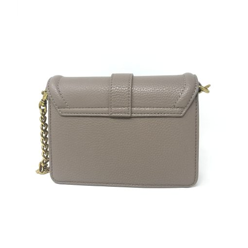 borsa a tracolla grana pu buckle taupe versace jeans couture 03