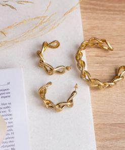 bracciale bronzo a maglia catena opus4 02
