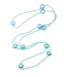 collana in vetro acqua e perle di fiume 01