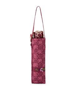 ombrello mini Ilary bordeaux logo farfalle braccialini 02